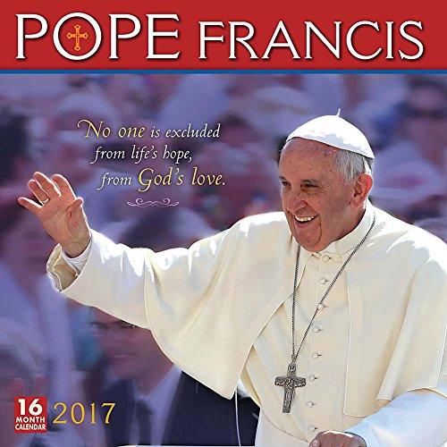 Pope Francis 2017 Wall Calendar