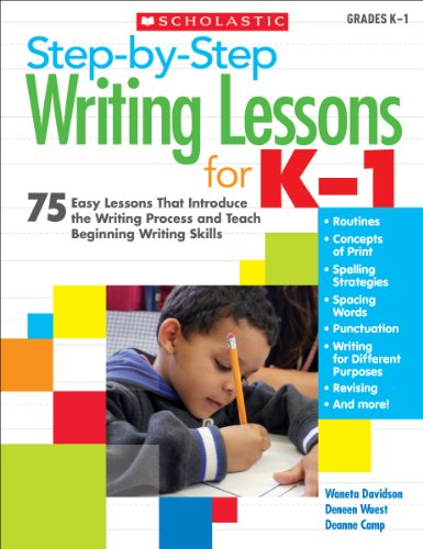 Step-by-Step Writing Lessons for K–1