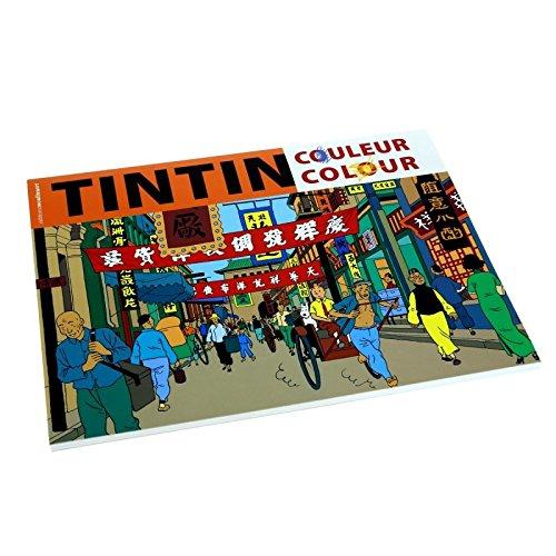 Libro para colorear Las aventuras de Tintín V1 24349 (2016 ...