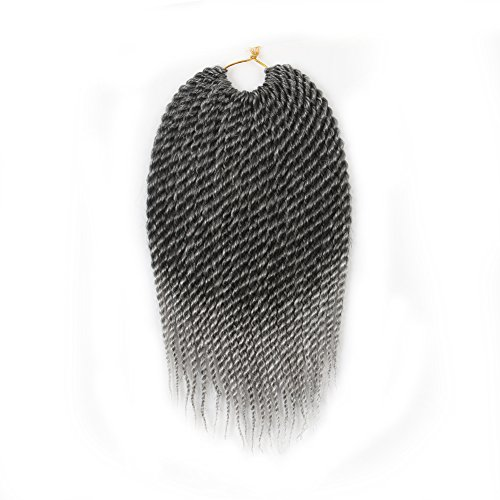 6pcs 12inch Senegalese Ombre braiding hair 22Strands Synt...