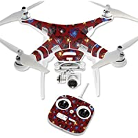 Skin For DJI Phantom 3 Standard – Diamond Galaxy | MightySkins Protective, Durable, and Unique Vinyl Decal wrap cover | Easy To Apply, Remove, and Change Styles | Made in the USA