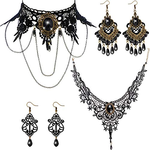 Hicarer Gothic Lace Choker...