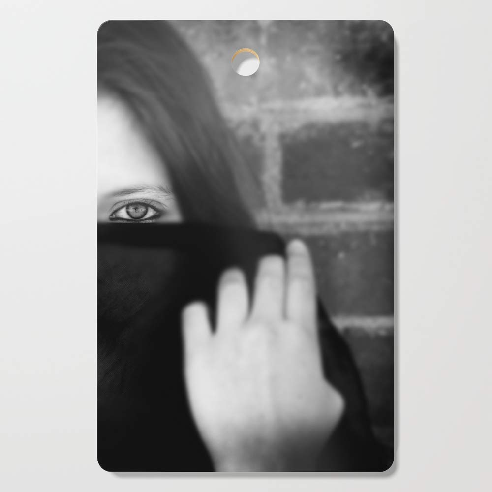 Society6 Wooden Cutting Board, Rectangular, Window to the soul by kellykasper