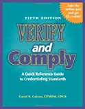 Verify and Comply, Carol S. Cairns, 1601466773