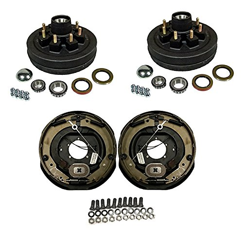 7,000 lbs. Trailer Axle Self Adjusting Electric Brake Kit by Southwest Wheel