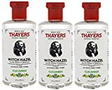 Thayers Alcohol Free Witch Hazel with Aloe Vera, Cucumber 12 oz (Pack of 3) For Sale