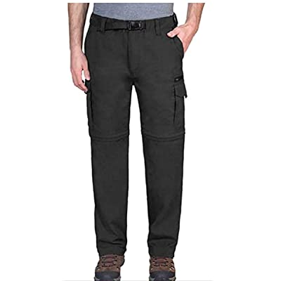 BC Clothing Mens Convertible Lightweight Comfort Stretch Cargo Pants or Shorts at Amazon Men's Clothing store