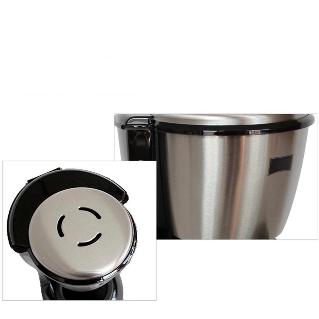 Máquina de café de acero inoxidable para uso doméstico Máquina de café a gota máquina de café automática: Amazon.es: Hogar