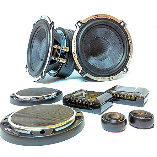 CT Sounds Meso 5.25 Inch Component Speaker Set (200w Speakers Component)