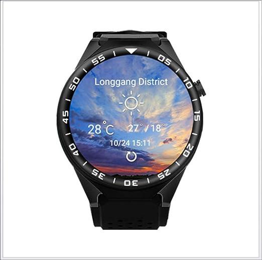 Smartwatch con Pulsómetro,Reloj Inteligente con Cronómetro ...