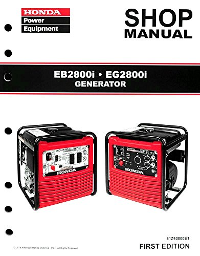 honda eb  generator service repair shop manual buy   uae lawn garden