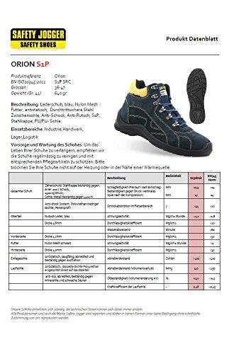 Safety Jogger, Orion Sicherheitsschuhe S1P SRC