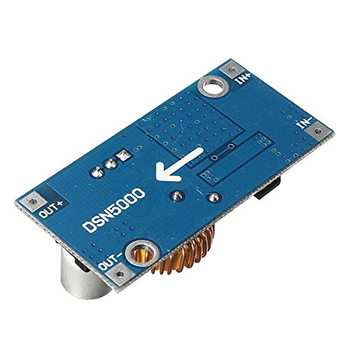 3Pcs Davitu 5A XL4005 DC-DC Adjustable Step Down Module Power Supply Converter - Arduino Compatible SCM & DIY Kits by Davitu Module Board (Image #2)