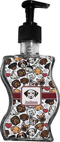 Dog Faces Wave Bottle Soap / Lotion Dispenser (Dachshund Soap)