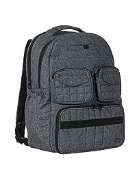 Lug Women's Puddle Jumper Backpack, Black Gym Bag, Heather Grey, One Size