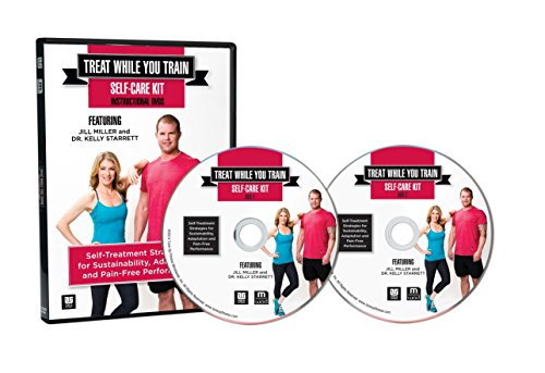 Tune Up Fitness Treat While You Train Kit with Jill Miller and Kelly Starrett, 2 DVD Set and Full Roll Model Self Massage Therapy Ball Set, Improve Mobility, Myofascial Release, Trigger Point Therapy by Tune Up Fitness (Image #2)