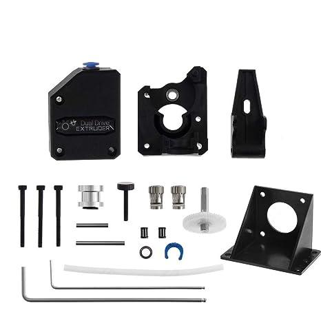 TOOGOO Doble Extrusora de Impresora 3D Gear Extrusora de ...