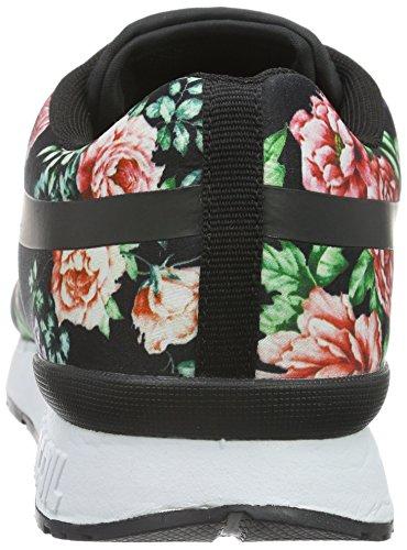 655 Black Coil r Flower Damen Sneaker Mehrfarbig Rose KangaROOS PwzqF8x