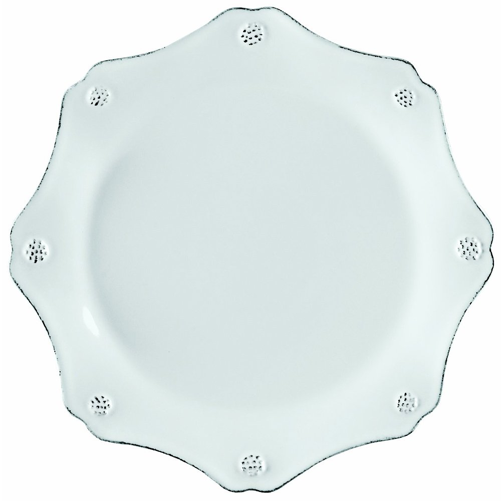 Juliska ''Berry & Thread'' Scallop Dessert Plate, Whitewash