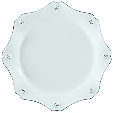 Juliska  Berry & Thread  Scallop Dessert Plate, Whitewash