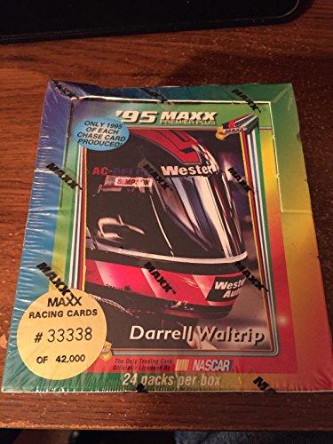 - 1995 Maxx Racing Cards factory sealed Box