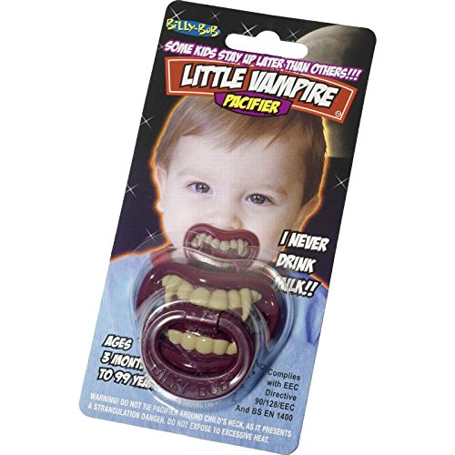 [Billy Bob Vampire Pacifier Unisex] (Vampire Costumes For Babies)