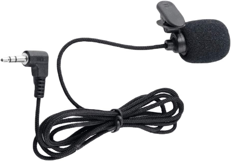 WJDASM Micrófono Universal 3.5mm Jack Micrófono Lavalier Clip de ...
