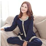 MOXIN Ladies Soft Warm Autumn Winter Cosy Pyjama Set MOXIN , l , A