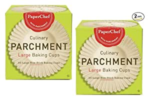 (2 Pack) Standard Paper Cupcake Liners / Baking Cups, 60-ct / Box