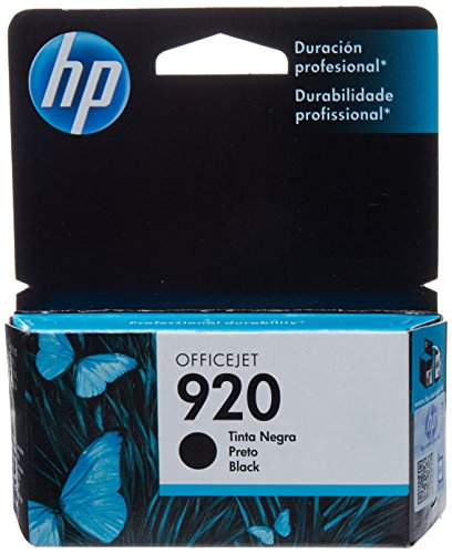 Hewlett Packard CD971AL La Hp 920 Black Officejet Ink Cartridge