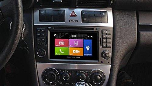 Dynavin N6-MBC Radio Navigation System, for Mercedes C Class