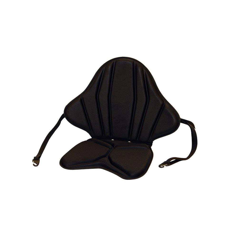 Amazon com black chair cushions - Malibu Kayaks Spider Angler Seat