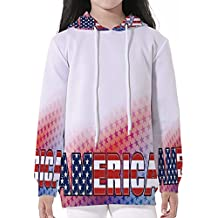 Young Boys Pullover Hoodies,American,New York City Aerial with Skyscrapers Man