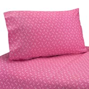 Sweet Jojo Designs 3-Piece Twin Sheet Set for Pink Happy Owl Bedding Collection