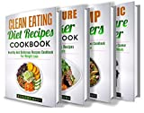 Product review for Clean Eating: Pressure Cooker: Dump Dinners: Electric Pressure Cooker: Box Set: The Complete Healthy And Delicious Recipes Cookbook Box Set(30+ Free Books ... Weight Loss, Clean Eating, Clean Diet)