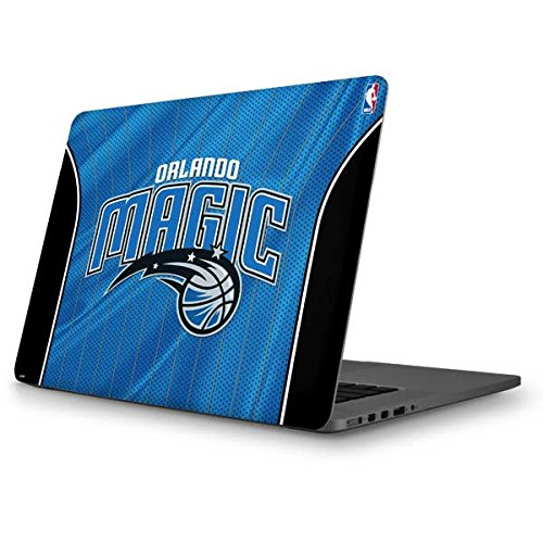 Skinit NBA Orlando Magic MacBook Pro 13 (2013-15 Retina Display) Skin - Orlando Magic Jersey Design - Ultra Thin, Lightweight Vinyl Decal Protection by Skinit