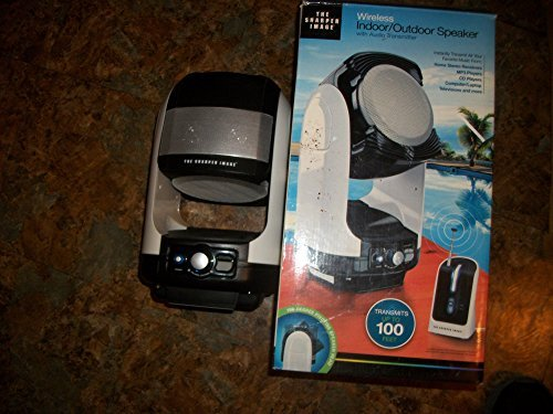 MerchSource The Sharper Image Wireless Indoor/Outdoor Spe...