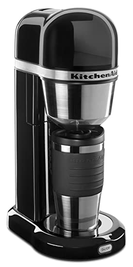 Kitchenaid Kcm0402ob Personal Coffee Maker Onyx Black Amazonco
