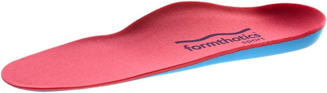 フォームソティックス Formthotics Sports インソール Ski Dual High 赤/青