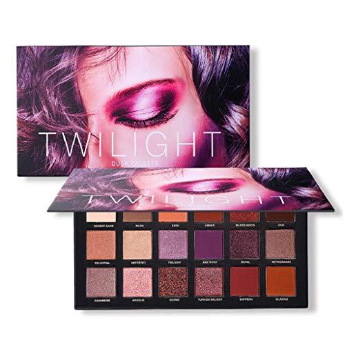 Rape Flower 18 Color Pearl Glitter Eye Shadow Powder Palette Matt Eyeshadow Cosmetic Makeup