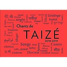 CHANTS DE TAIZÉ 2018-2019