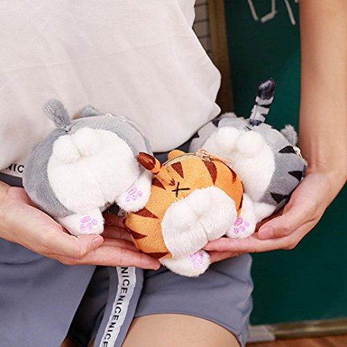 Crossbody Cat A Bags LLguz Tail Purse Butt Shoulder Handbag Plush Cute 56qf6Y