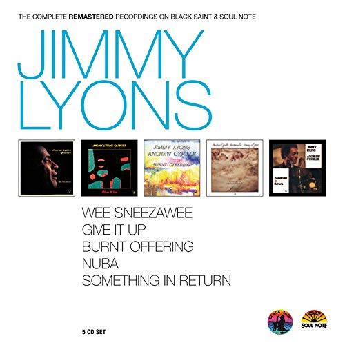 Jimmy Lyons - Complete Recordings on Black Saint & Soul Note