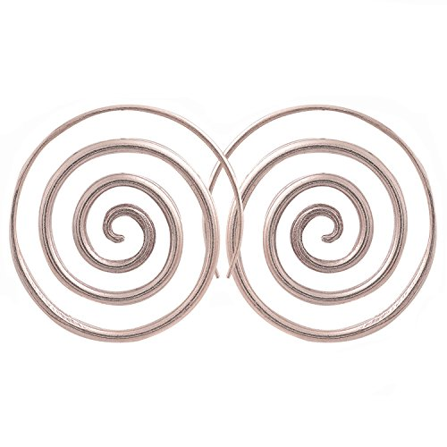 Verynice Coil Earrings Karen Hill Tribe Silver (Charms Tribe Hill Coil)