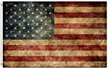 ShineSnow United States American Flag 3×5 Feet Flag, Polyester Double Stitched 4th of July Memorial Independence Day with Brass Grommets 3 X 5 Ft Flag for Outdoor Indoor Decor