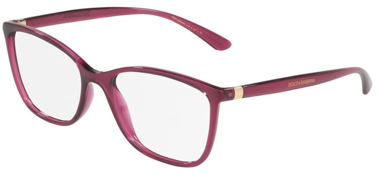Eyeglasses Dolce /& Gabbana DG 5026 1754 TRANSPARENT BLACK CHERRY