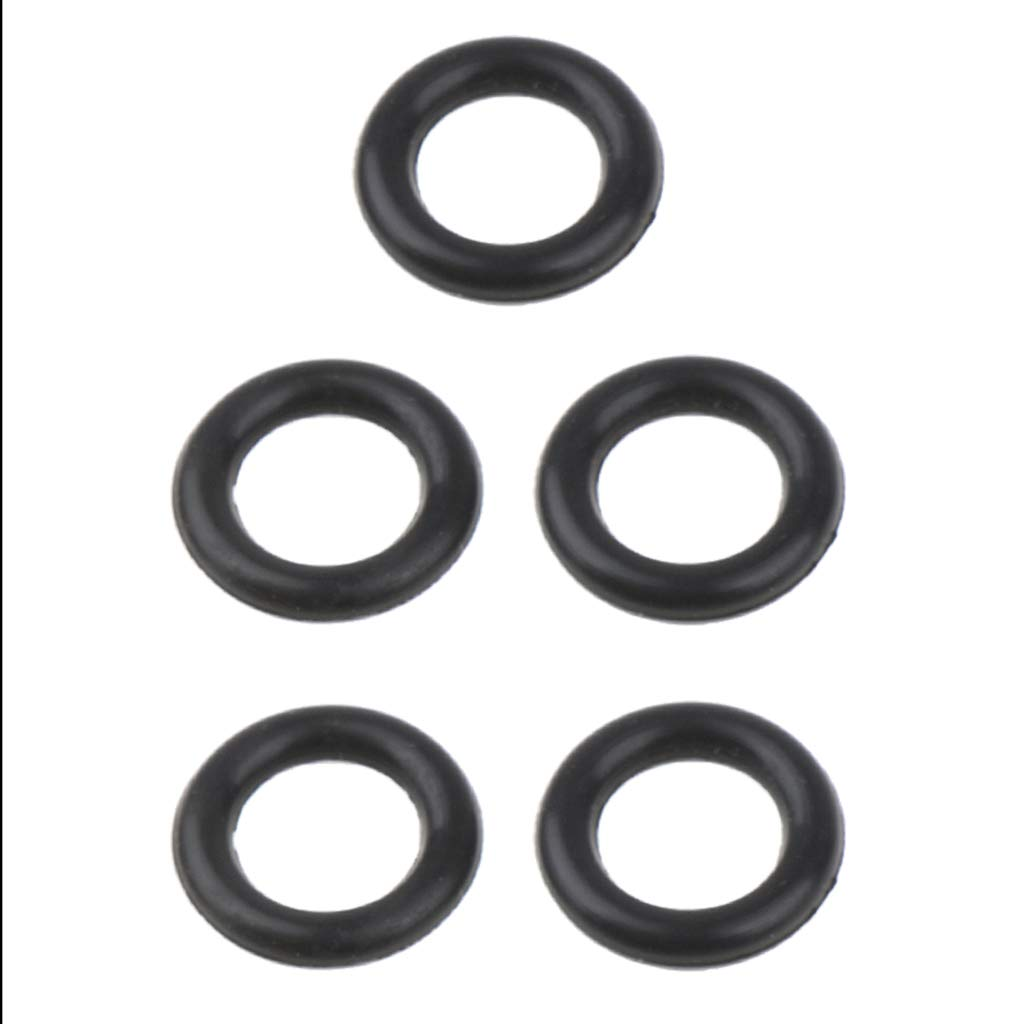 IPOTCH 5PCS Camping Stove Leakage Proof Rubber Ring O Type Sealing Connector Gasket Outdoors