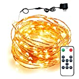 The remote controlled LED dancing string lights create a warm,soft,white ambience light that is ideal for home and business decoration. With this easy to set up,DIY novelty lighting,you can: indulge yourself in romance and joy,celebrate birth...