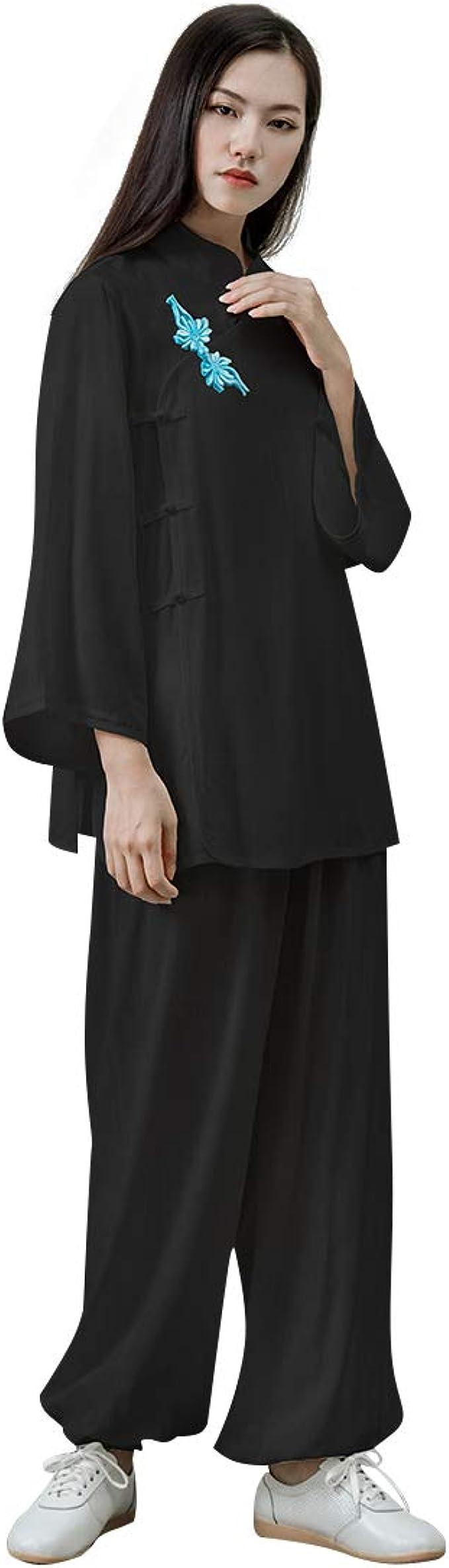 Amazon.com: KSUA - Traje de algodón para mujer con diseño de ...