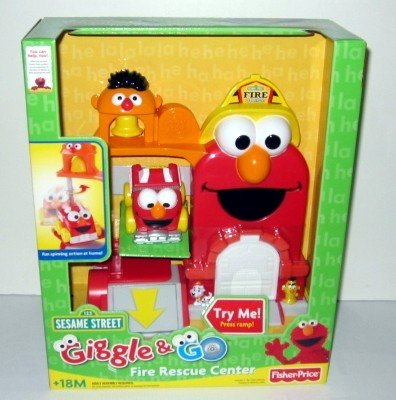 Giggle' N Go Fire Rescue Center Giggle Elmo